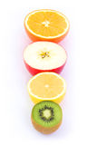 Selection of fruit Royalty Free Stock Photography