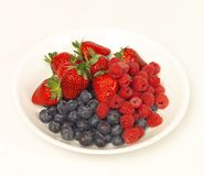 A selection of fruits Royalty Free Stock Photography