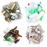 Selection of garbage royalty free stock photos