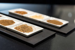 Selection of Ground Spices Royalty Free Stock Images