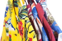 Selection of Hawaiian shirts Royalty Free Stock Image