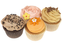 Selection of Cupcakes Stock Images