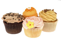 Selection of Cupcakes Stock Image