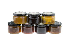 Selection of Jams - Stock Image Royalty Free Stock Photography