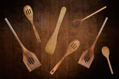 Wooden Spoons Royalty Free Stock Photo
