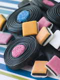 Selection of Liquorice Royalty Free Stock Photography