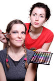 Selection of make-up stylist Stock Photo
