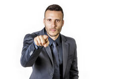 Selection man Royalty Free Stock Photography