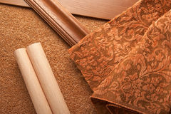Selection of materials Stock Photography