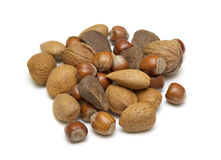 A Selection of nuts Stock Images