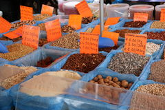 Selection of Nuts. Royalty Free Stock Images