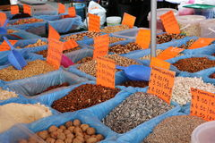 Selection of Nuts. Royalty Free Stock Photography