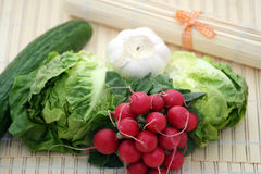 Selection Of Vegetables Stock Photography