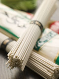 Selection of Oriental Noodles Royalty Free Stock Photos