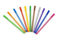 Selection of pencils Royalty Free Stock Photos