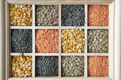 Selection Of Pulses Stock Image