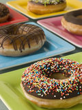 Selection Of Ring Doughnuts royalty free stock images