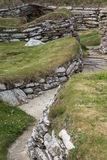 Selection of ruins at Skara Brae, Orkney, Scotland. Stock Photos