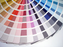 Selection samples. Color selection samples Stock Images