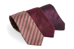 Selection of silk ties Stock Image