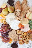Selection of soft cheeses Royalty Free Stock Photo