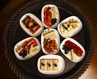 Selection of Spanish tapas Stock Photo