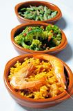 Selection of Spanish tapas. Royalty Free Stock Photography