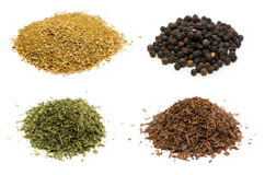 Selection of spices Royalty Free Stock Photography