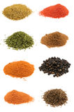 Selection of spices Stock Photo