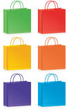 Striped bags Royalty Free Stock Photos