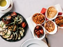 Selection of Tapas in Spain royalty free stock images