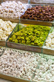 Selection of Turkish delights Royalty Free Stock Photos