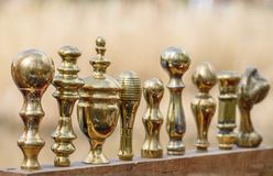 Brass Handles For Sale Royalty Free Stock Photography