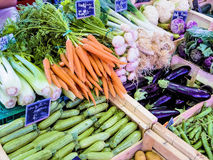Selection of vegetables Royalty Free Stock Photography