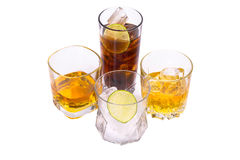 Selection of whiskey Stock Images