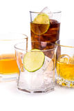 Selection of whiskey. Stock Photo
