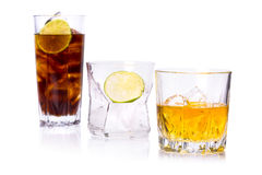 Selection of whiskey Stock Photography