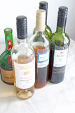 A Selection Of Wines Stock Images