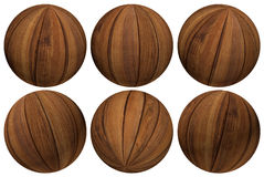 Wood Balls Stock Image