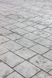 Selective focus cement block background. Stock Image