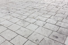 Selective focus cement block background. Stock Images