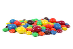 Selective focus Colorful Candy Background Stock Photos