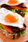 Egg sandwich Royalty Free Stock Photography
