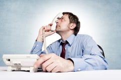 Phone stress Royalty Free Stock Photo