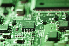 Close up Circuit board Stock Images