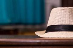 Selective Focus Photo of Brown Fedora Hat Royalty Free Stock Photography