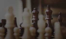 Selective Focus Photography of Chess Piece Stock Image