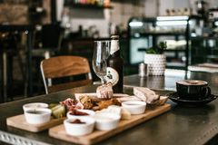 Selective Focus Photography Of Food On Table royalty free stock photography