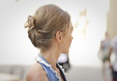 Selective Focus Photography of Woman Looking on Side stock photo
