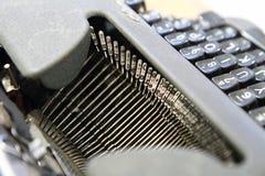 Selective focus to old Typewriter Royalty Free Stock Image